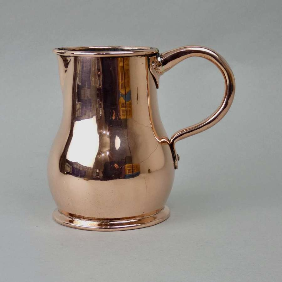 Pear Shaped Copper Jug