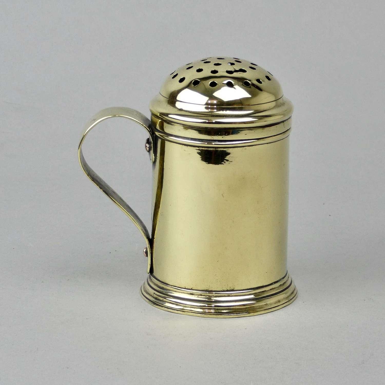 18th Century, Brass Flour Dredger