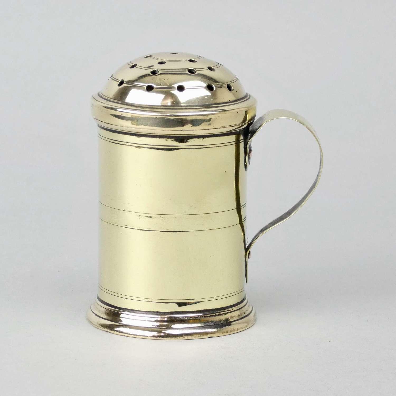 Brass Flour Dredger c.1780