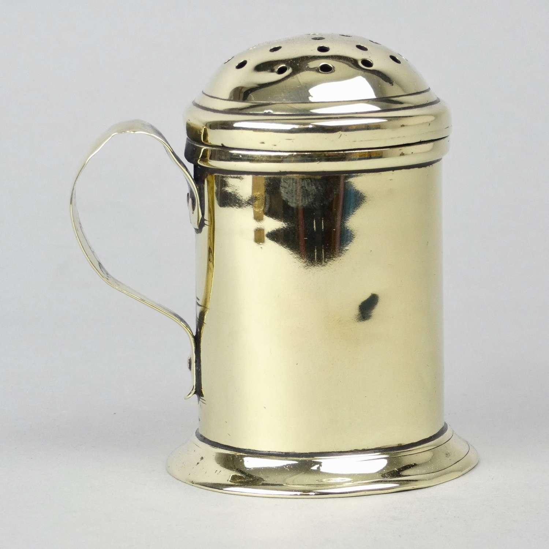 Georgian Brass Flour Dredger