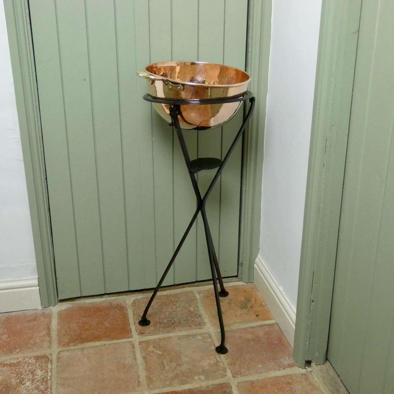 Small, Copper Sugar Bowl