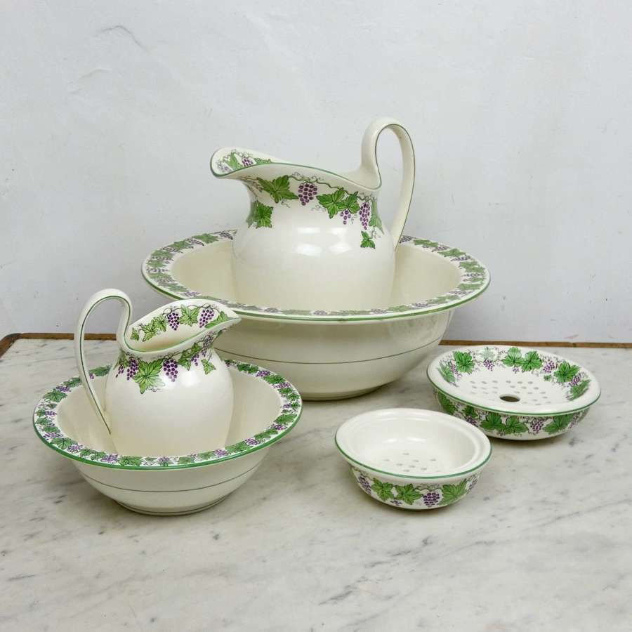 Wedgwood jug & bowl set