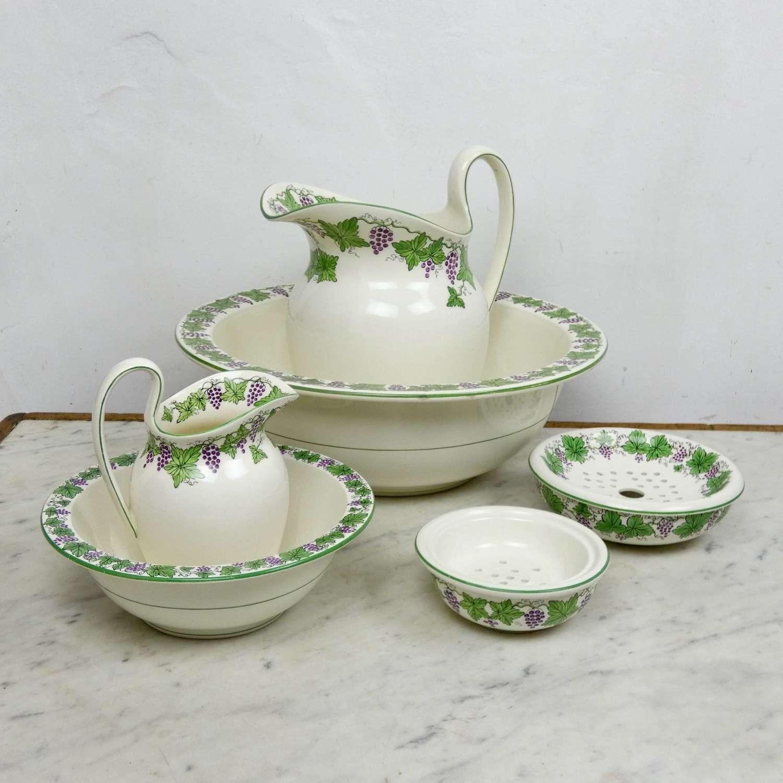 Wedgwood jug & bowl set