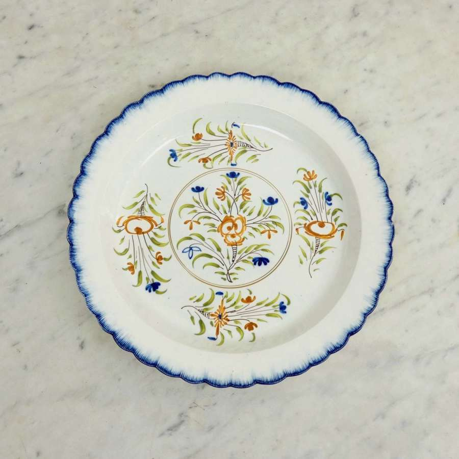 Colourful, Pearlware Platter