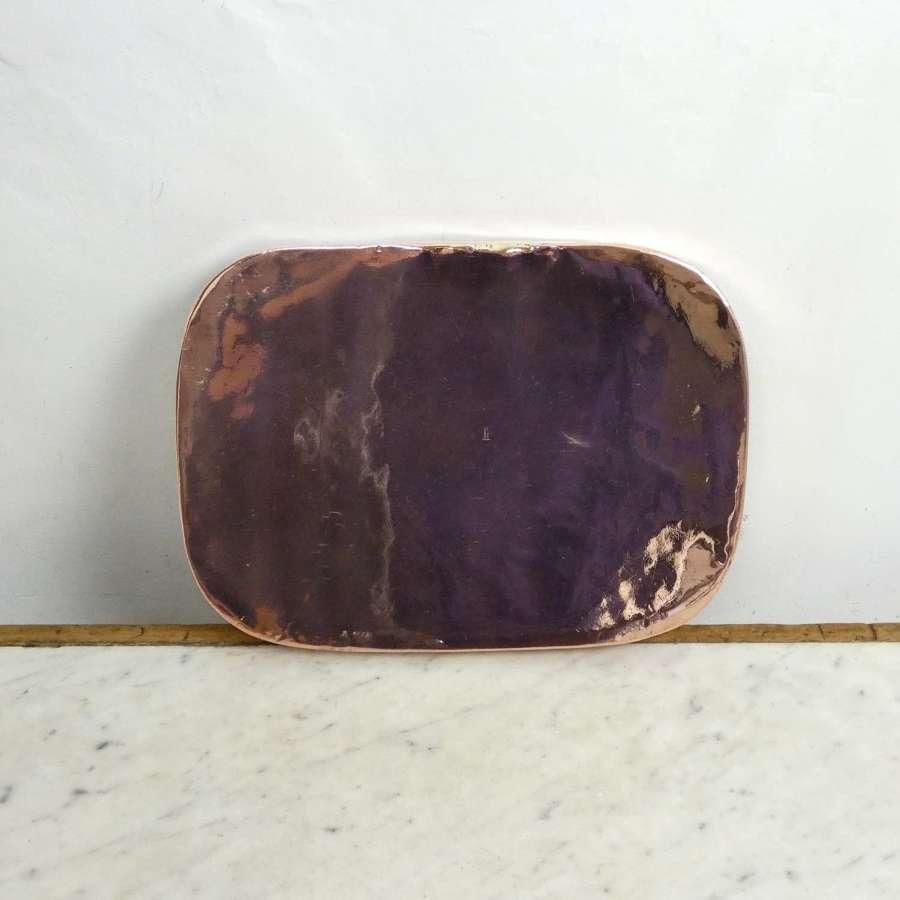 19th Century Copper Baking Tray