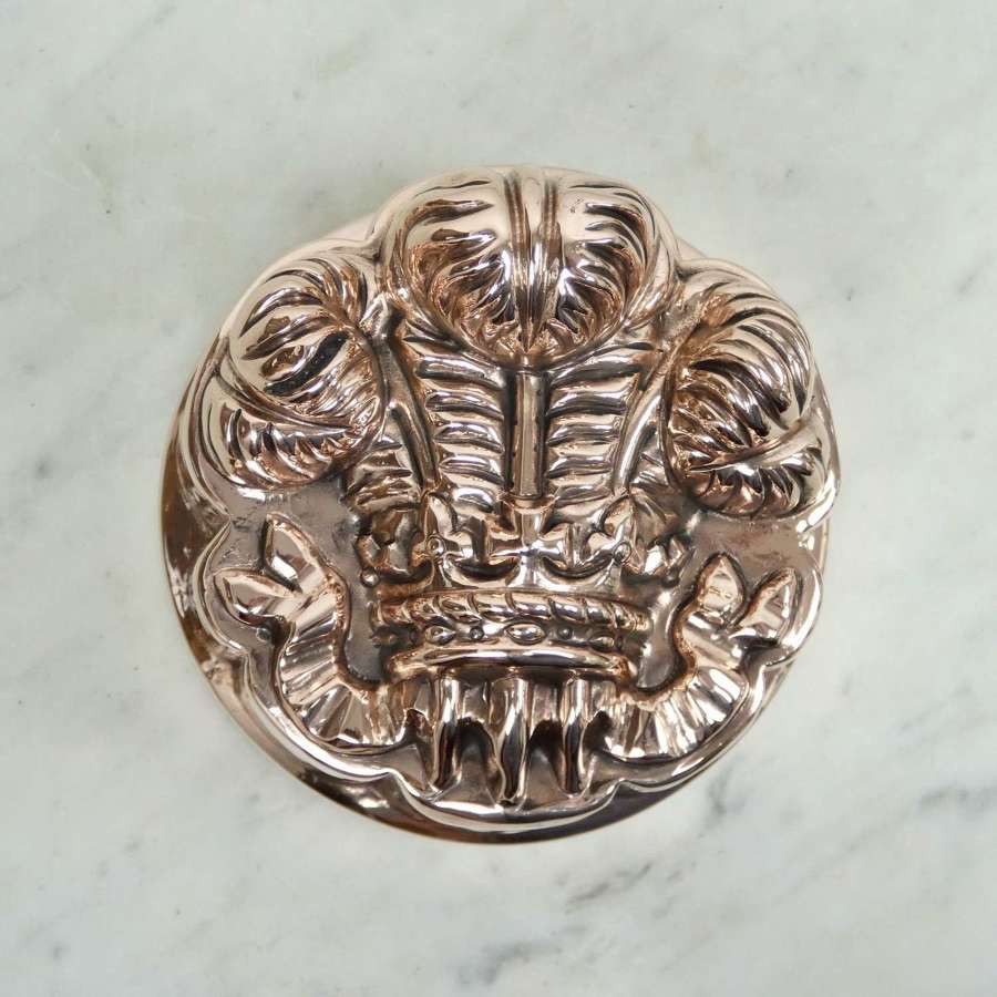 Benham's, Prince of Wales Feathers Mould