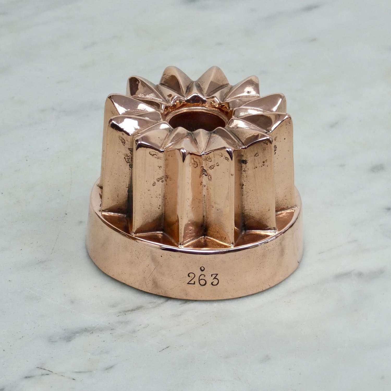 Small, Copper Pipe Mould