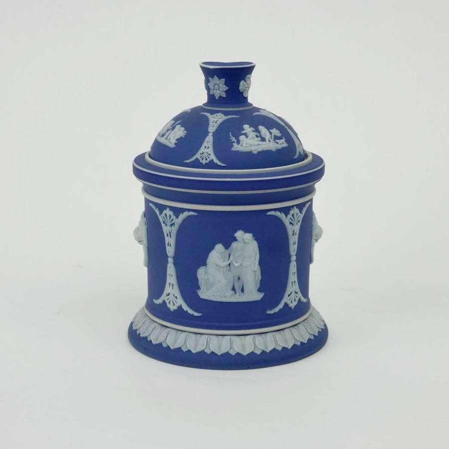 Wedgwood tobacco jar