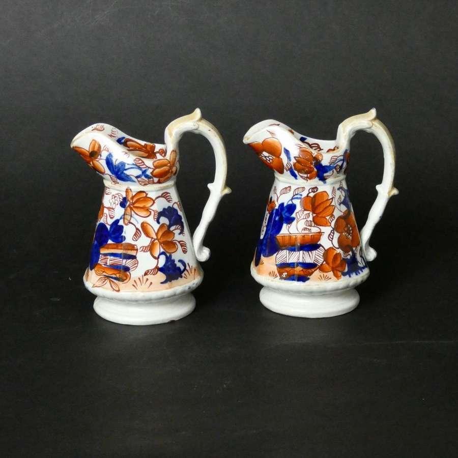 Mason's type, ironstone jugs