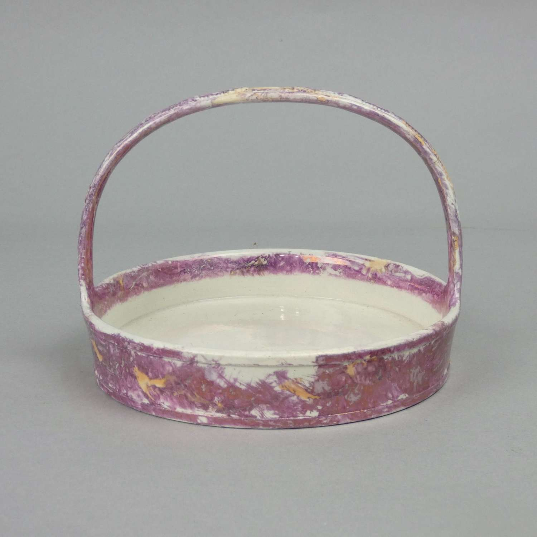 Wedgwood, Moonlight Lustre Basket