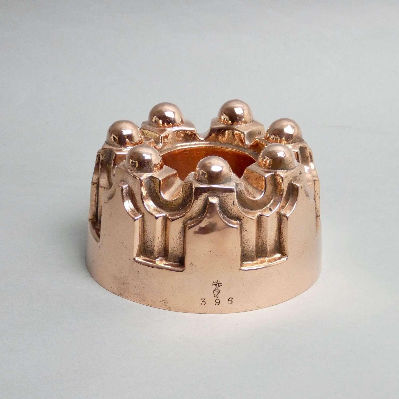 Benham's copper jelly mould