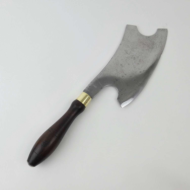Heavy steel meat cleaver