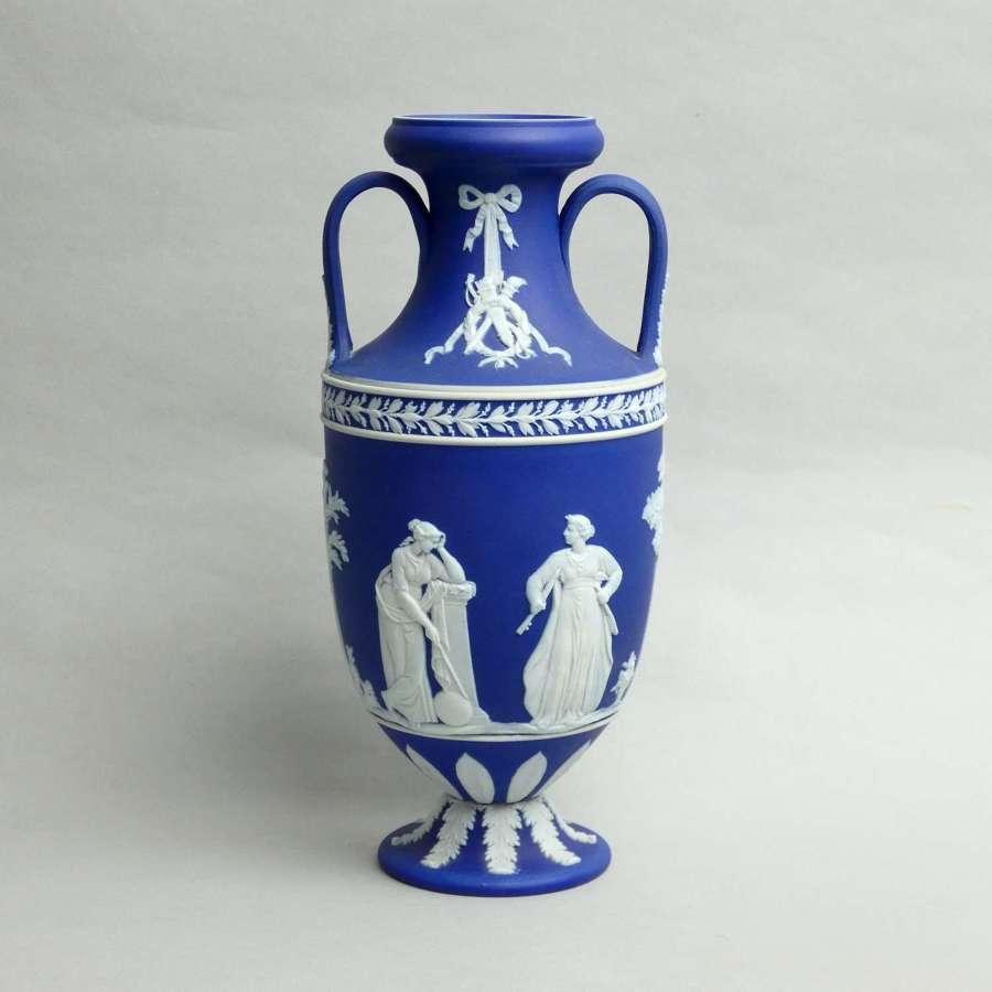 Large, Wedgwood Jasper Trophy Vase