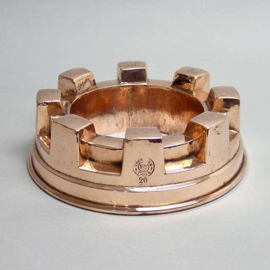 Trottier copper ring mould