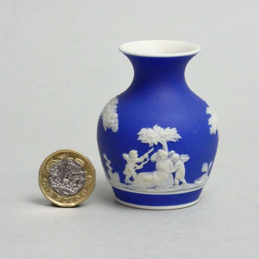 Miniature Wedgwood vase