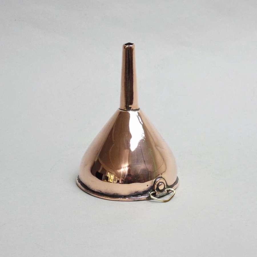 Copper Wine Funnel
