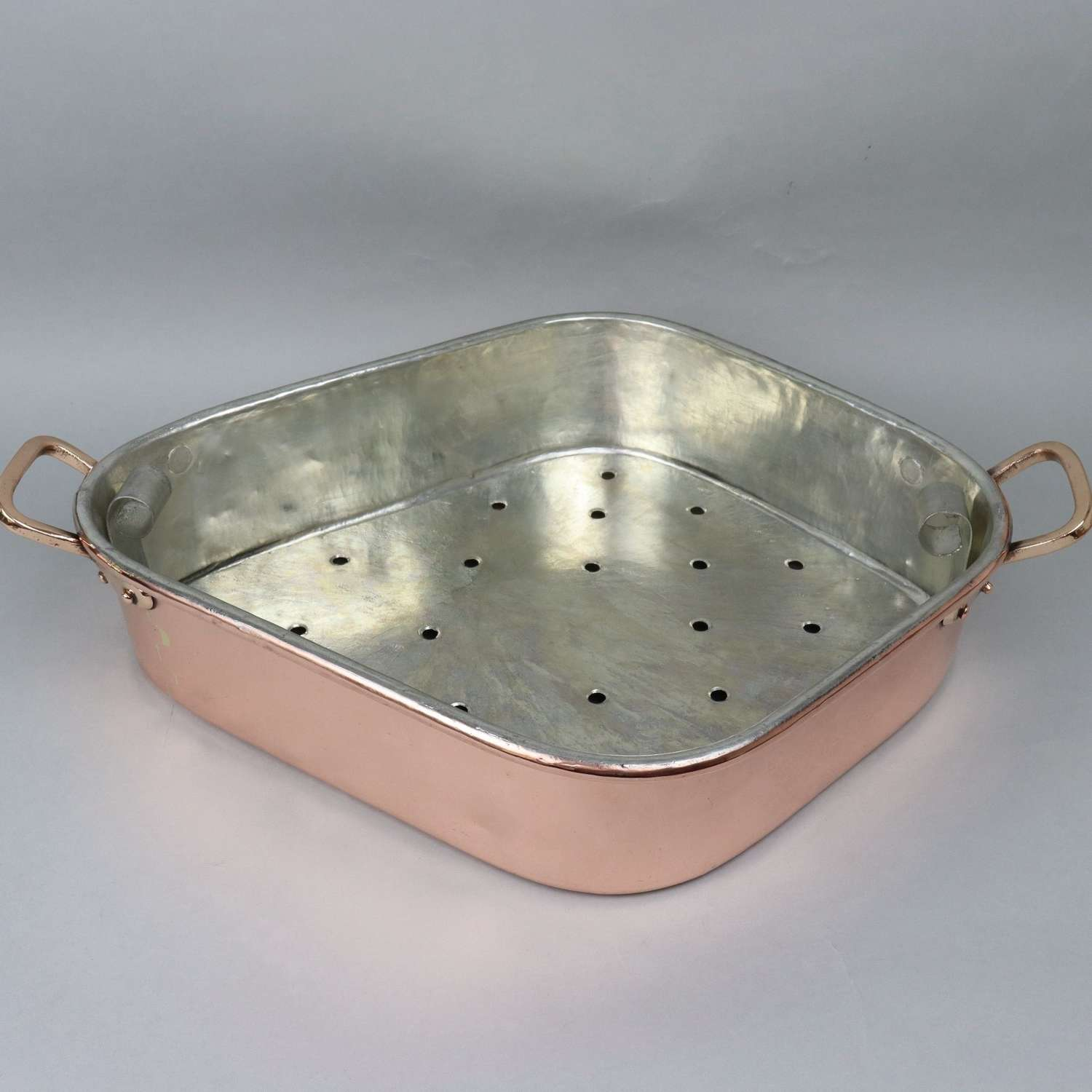 French copper turbotiere